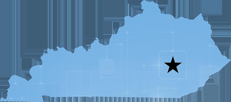 Mckee KY lifeline located on map