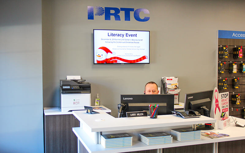 PRTC customer service employee and dest