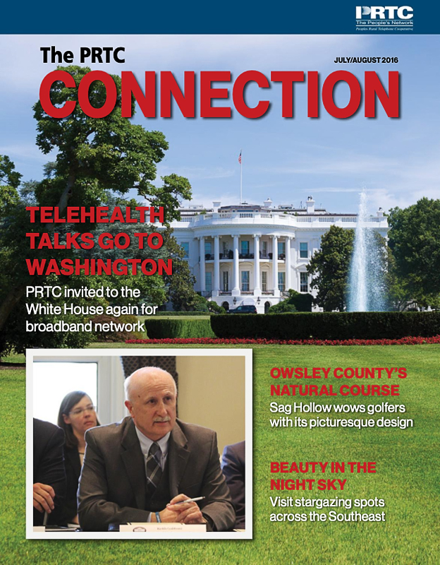 PRTC Connection Newsletter July/August 2016