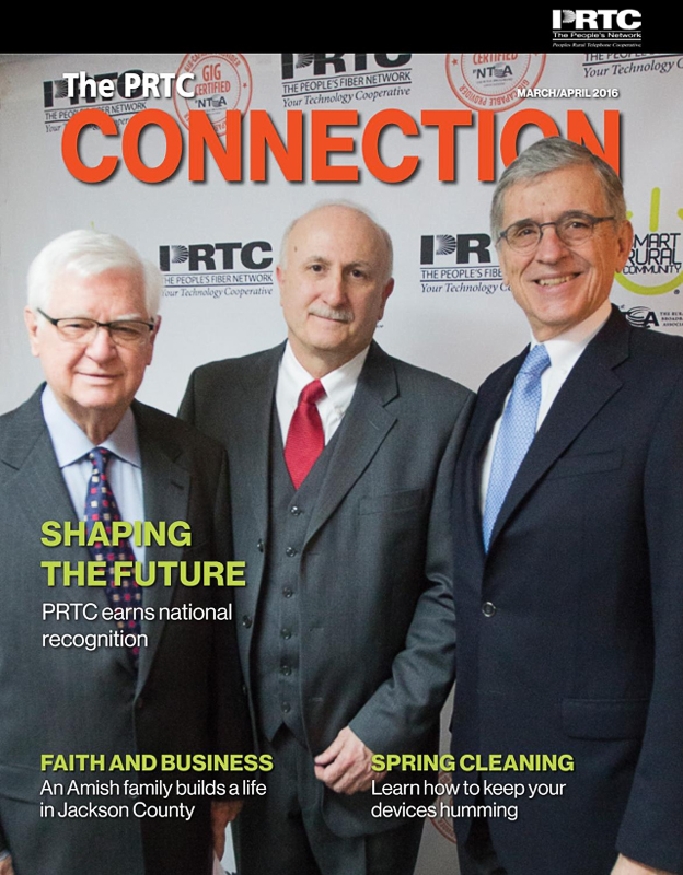 PRTC Connection Newsletter March/April 2016