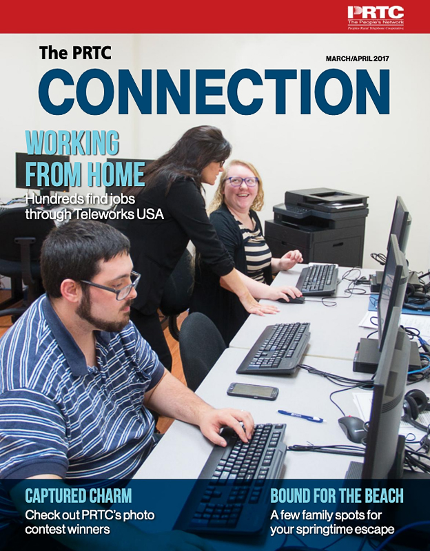 PRTC Connection Newsletter March/April 2017